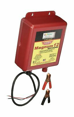 Parmak Mag12-uo 12-volt Magnum Low Impedance Battery Electric Fence Charger