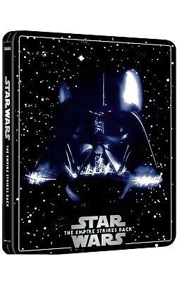 Star wars episode V the empire strikes back  4k ultra HD steelbook 3 disc editio