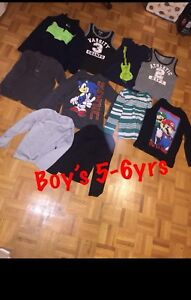 Boy's assorted clothing