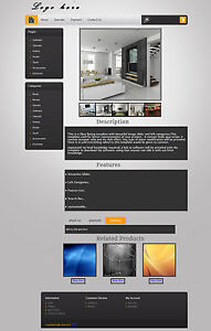 eBay HTML Auction Listing Custom Template Design
