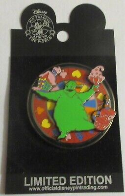 Disney Pin Haunted Mansion Holiday Series 2003  Oogie Boogie Spinner LE3000  Oogie Boogie Pin