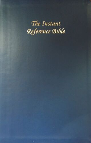 NEW EDITION INSTANT REFERENCE STUDY BIBLE (by Dr Gaddy) SALE