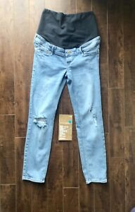 H&M Sz. 6 Maternity Distressed Jeans. Paid $67.79....$25.00