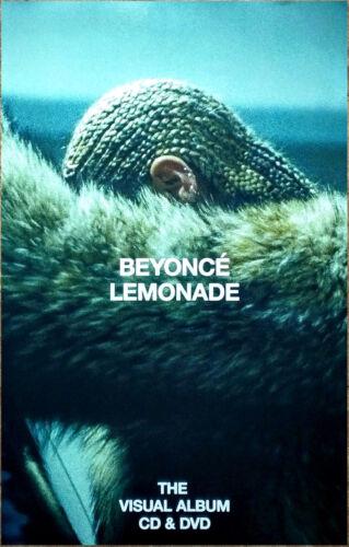 BEYONCE Lemonade Ltd Ed New RARE Poster +BONUS Pop R&B Poster! Grammys