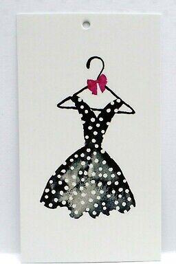 200 Clothing Tags Hang Tags Black Dress Accessories Tags Retail Tags Hang Tags