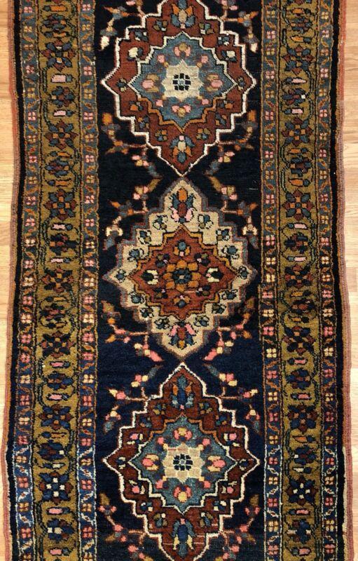 Tremendous Tribal - 1910s Antique Oriental Rug - Nomadic Runner - 2.11 X 10.2 Ft