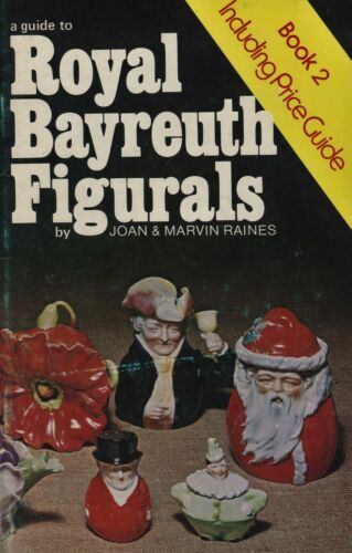 Antique Royal Bayreuth Identification - Figurals + Marks / Scarce Book + Values