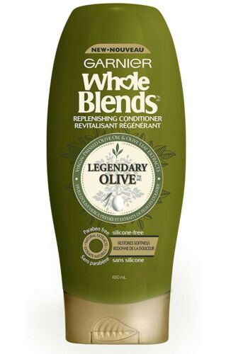 Garnier Whole Blends Conditioner Pressed Olive Oil - Leaf Ex