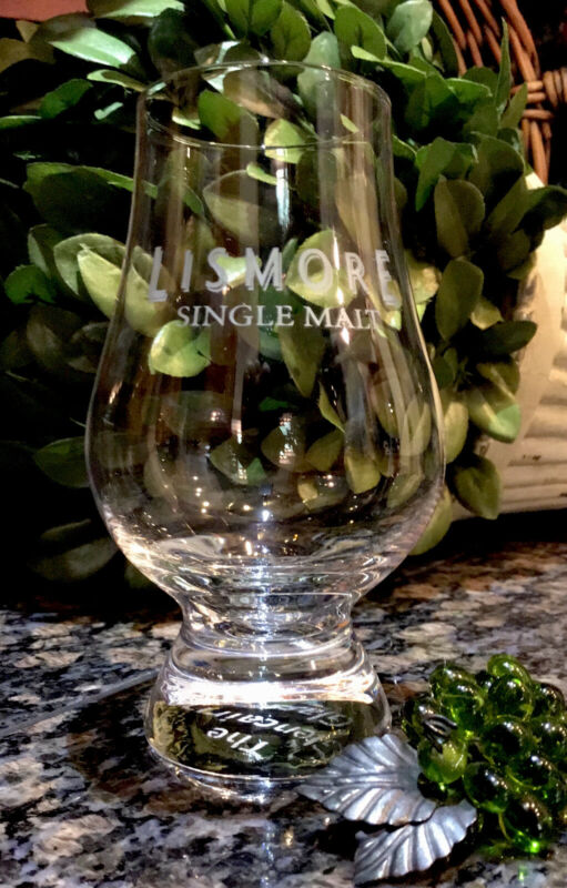 Limited Edition LISMORE Single Malt Scotch Crystal Glencairn Snifter PRISTINE!