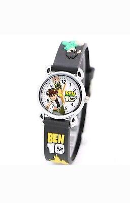 UK SELLER Brand new boys Ben 10 watch black strap