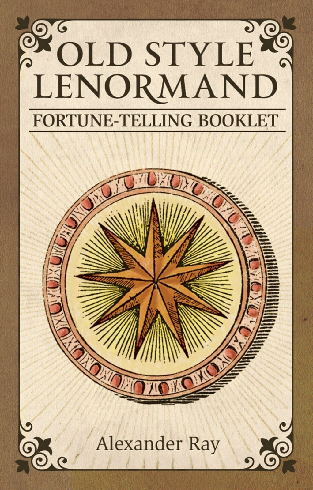 Old Style Lenormand Fortune Telling Cards with Booklet by Alexander Ray USGS