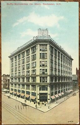 1910 Duffy-McInnerney Co. Department Store, Rochester, New York Postcard - (Rochester New York Department Stores)