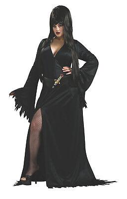 Womens Plus Size Elvira Costume Mistress of the Dark