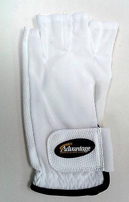 Advantage Tennis Glove Half Finger Left Mens - Medium - Authorized Dealer