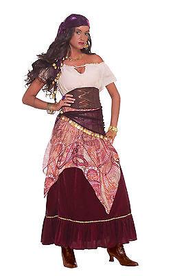Madame Mystique Adult Gypsy Fortune Teller Costume Ren Fest  Adult Size Standard](Ren Fest Costume)