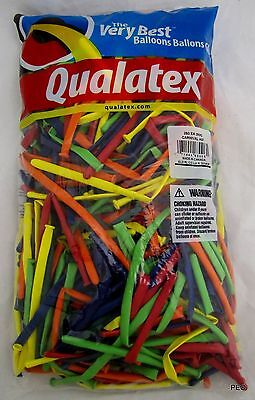 Qualatex Balloons Carnival Assortment Animal Twist 250 Count Size 260 Balloon - Twisting Balloons