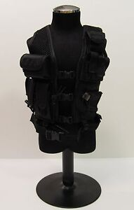 1/6 Soldier Story CIA SAD Night Ops Black Vest