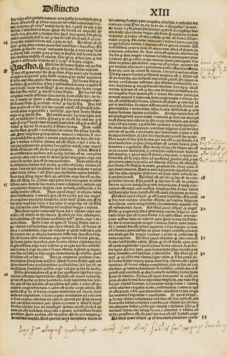 Incunabula - Petrus Lombardus