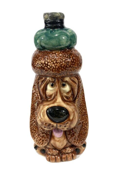 Vintage Collectable Porcelain Ceramic Dog Figurine