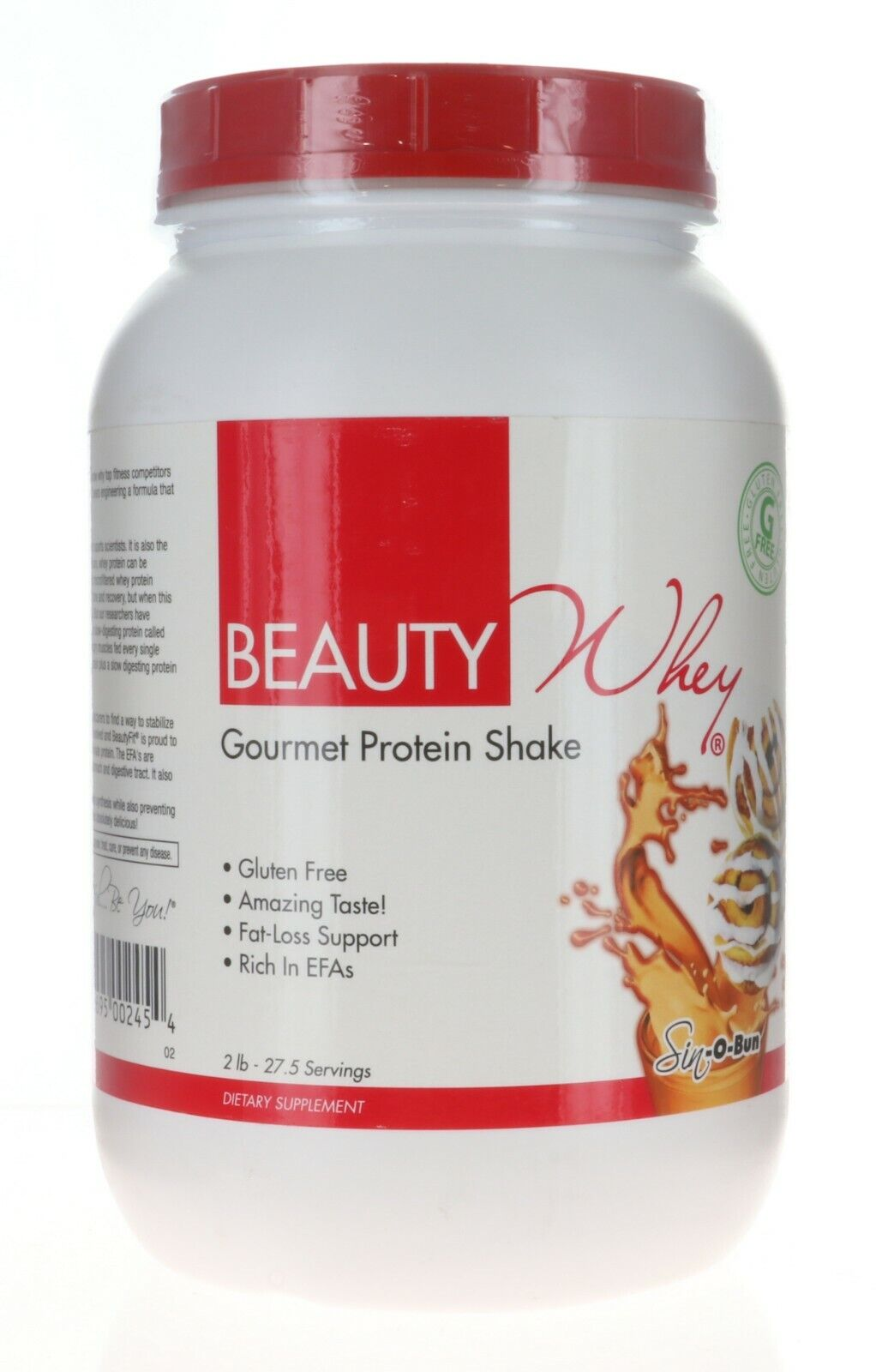BeautyFit Beauty Whey, Gourmet Protein Powder For Women, SIN