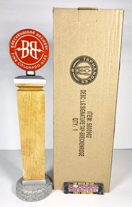 "Breckenridge Brewery Colorado Ales Beer Tap Handle 11.5"" Tall Brand New In Box!"