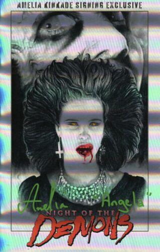 Amelia Kinkade Autograph Signed Autograph Book - Night of the Demons (JSA COA)
