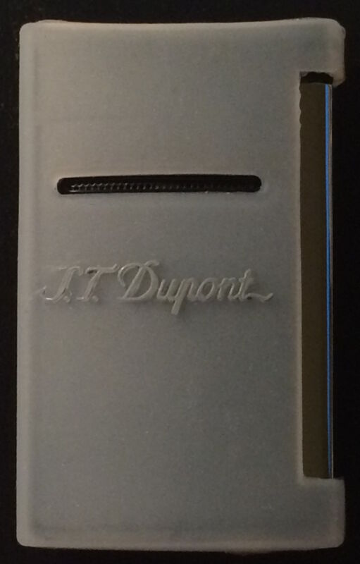 White Silicone Cover Pouch For Any S.T. Dupont Minijet Lighter, New