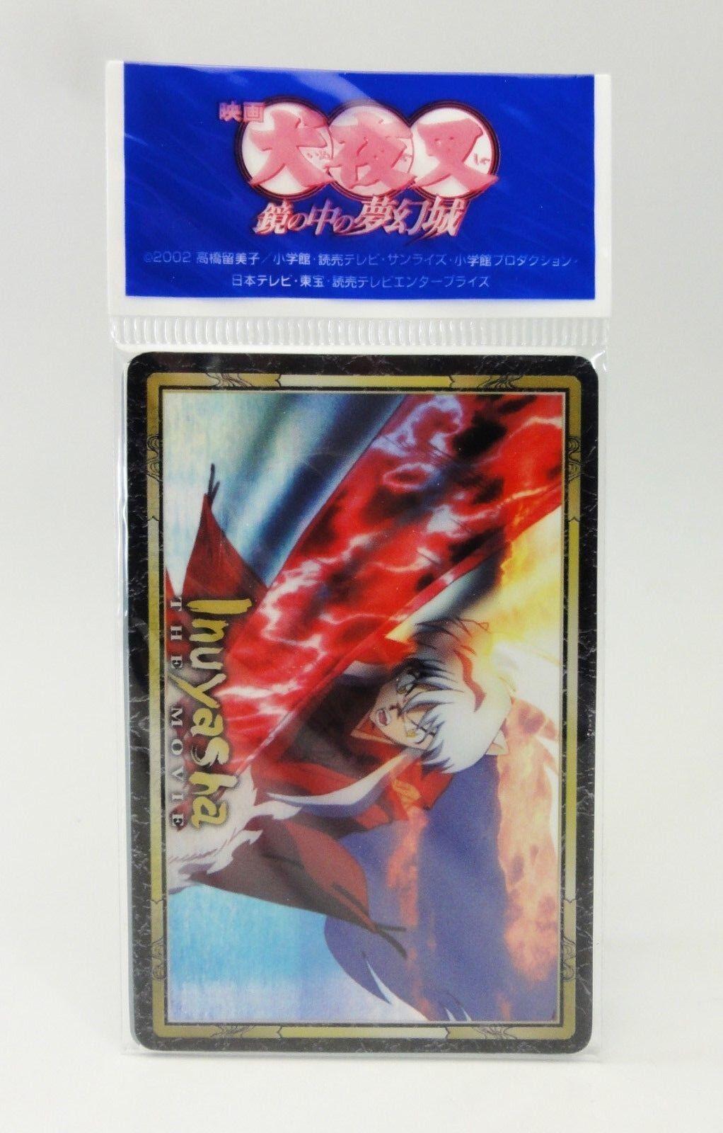 INUYASHA The Movie Clear Card C Set MOVIC JAPAN
