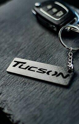 Hyundai Tucson Emblema Llavero Carbono Clave Chain Z115