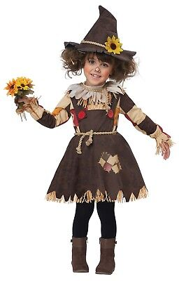 Toddler Pumpkin Patch Scarecrow Wizard Of Oz Costume (Wizard Of Oz Toddler Costumes)