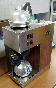 Bunn 3 Burner Coffee Maker Bunn O Matic Commercial Pour Omatic 12 Cup Coffee Maker 2 ...