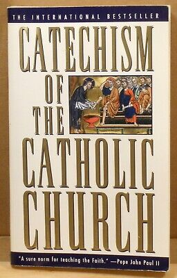 1995 book CATECHISM of the CATHOLIC CHURCH PAPERBACK by IMAGE DOUBLEDAY USED