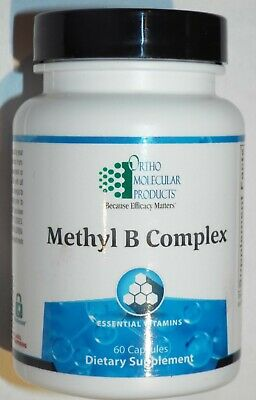 Ortho Molecular Methyl B Complex Essential Vitamins - 60 Capsules
