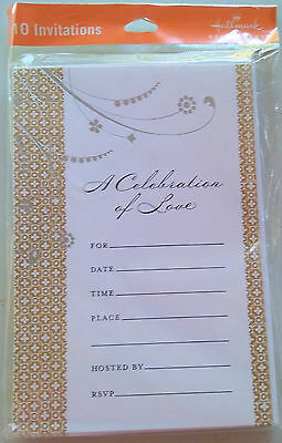 Hallmark Invitations 10 invitations A CELEBRATION OF - Hallmark Invitations