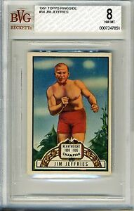 1951-Topps-Ringside-54-Jim-Jeffries-BVG-8-NM-MT-Heavyweight-Champion