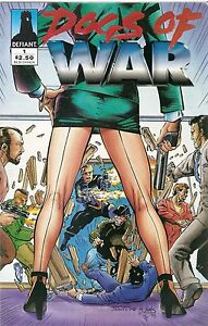 DOGS-OF-WAR-Comic-Book-by-Defiant-3-Issues-Mint-Near-Mint