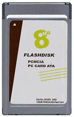 Type 2 PCMCIA ATA Flash Memory PC Card 8 MB 32 MB 48 MB 64 MB 96 MB to 2GB 4GB Gigabyte Pc Card Memory