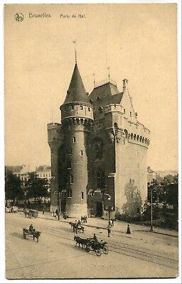 CPA - Carte Postale - Belgique - Bruxelles - Porte de Hal (SV5978)