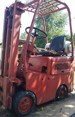 Vintage 1950s Clark Clipper Forklift Lp Gas Mini Micro Fork Truck