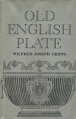 Antique English Silver Plate - 2,600+ Makers Marks Dates / Scarce Book