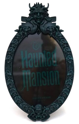 """New Disney Parks The Haunted Mansion Sign Plaque 5"""" x 7"""" Photo Frame"""