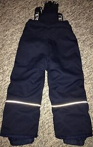 Two pairs of Blue and Grey Size 4 Snow Pants Peterborough Peterborough Area image 1