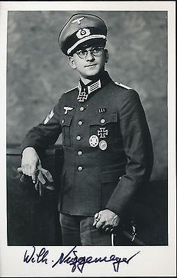 Wilhelm Niggemeyer signed photo