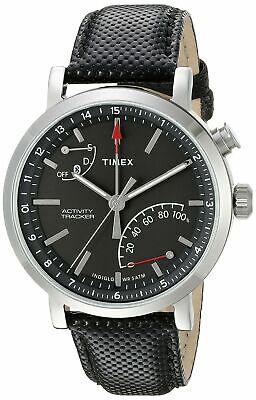 Timex Metropolitan+ Activity Tracker Leather Mens Smart Watch TW2P81700
