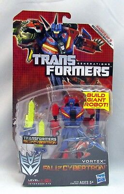 TRANSFORMERS GENERATION FALL OF CYBERTRON VORTEX *NEW*MINT* 3 OF 5