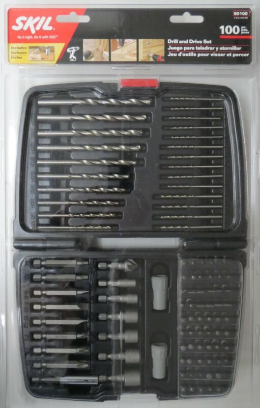 Skil 90100 100 Piece Drill and Drive Set