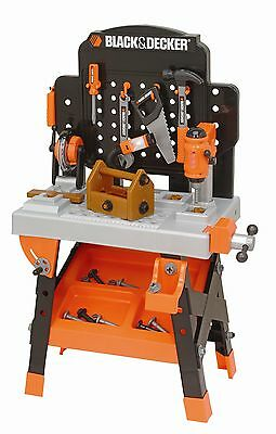 Black & Decker Kids Tool Set Toy Workshop Power Tools Box Bench Pretend Play NEW