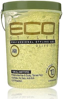 ECO Styler Professional Styling Gel, Olive Oil, Max Hold 80 (Gel Styler)