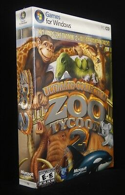 NEW Zoo Tycoon 2: Ultimate Collection Complete PC Game + 4 Expansions / DLC NEW comprar usado  Enviando para Brazil