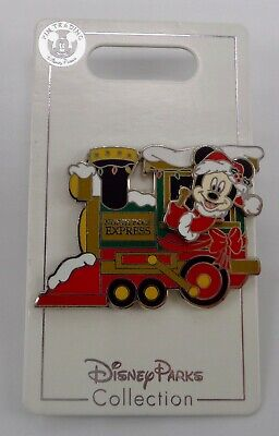 Disney 2019 Santa Mickey North Pole Express Train Christmas Holiday Pin